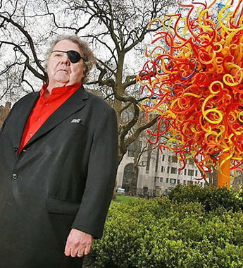 Dale Chihuly, artist. <br>Dale Chihuly, brand.