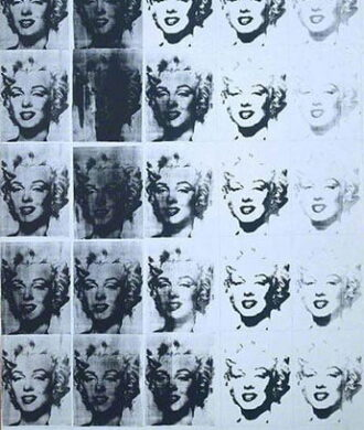 Andy Warhol, Marilyn Diptych, 1962 Tate, © 2020 The Andy Warhol Foundation for the Visual Arts, Inc. / Licensed by DACS, London